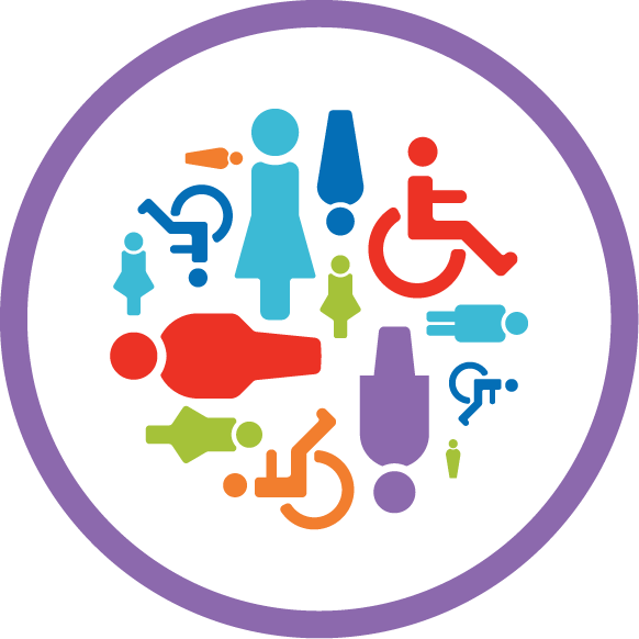 Champion Equity and Inclusivity graphic icon