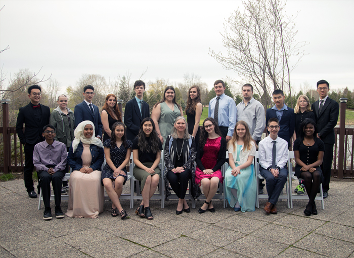 Group photo of the 2019 Celebrating Student Success recipients