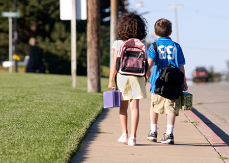 October 4th - International Walk to School Day