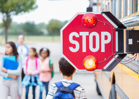School Bus Safety Week - October 16th - 20th