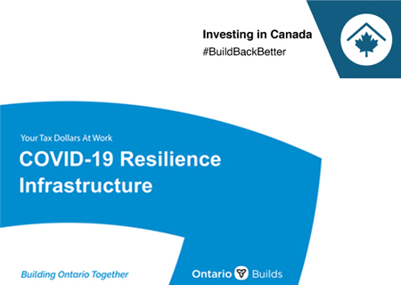 COVID-19 Resilience Infrastructure