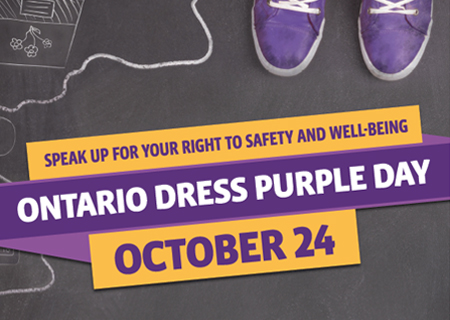 Dress Purple on October 24th