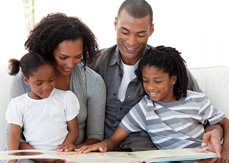 Imagine, Create and Play on Family Literacy Day