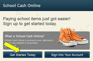 School Cash Online - Get Started