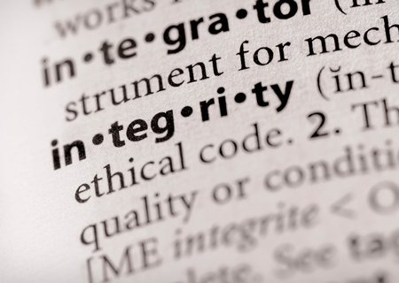 Integrity – Character Matters