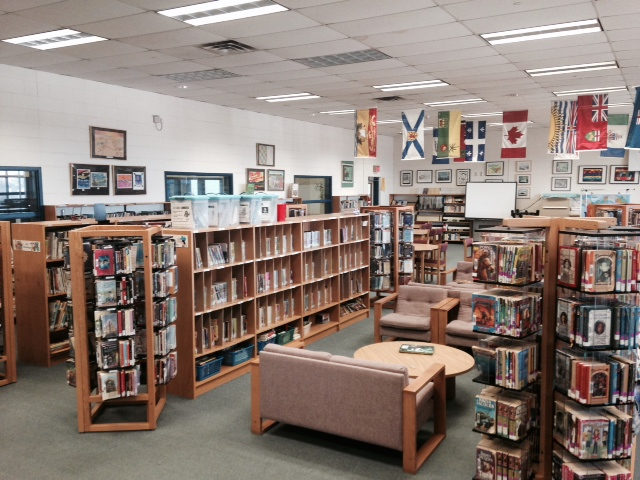 Landscape of Buttonville PS Library