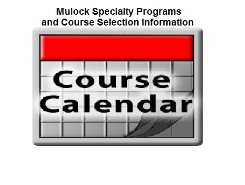 2016-2017 Course Calendar