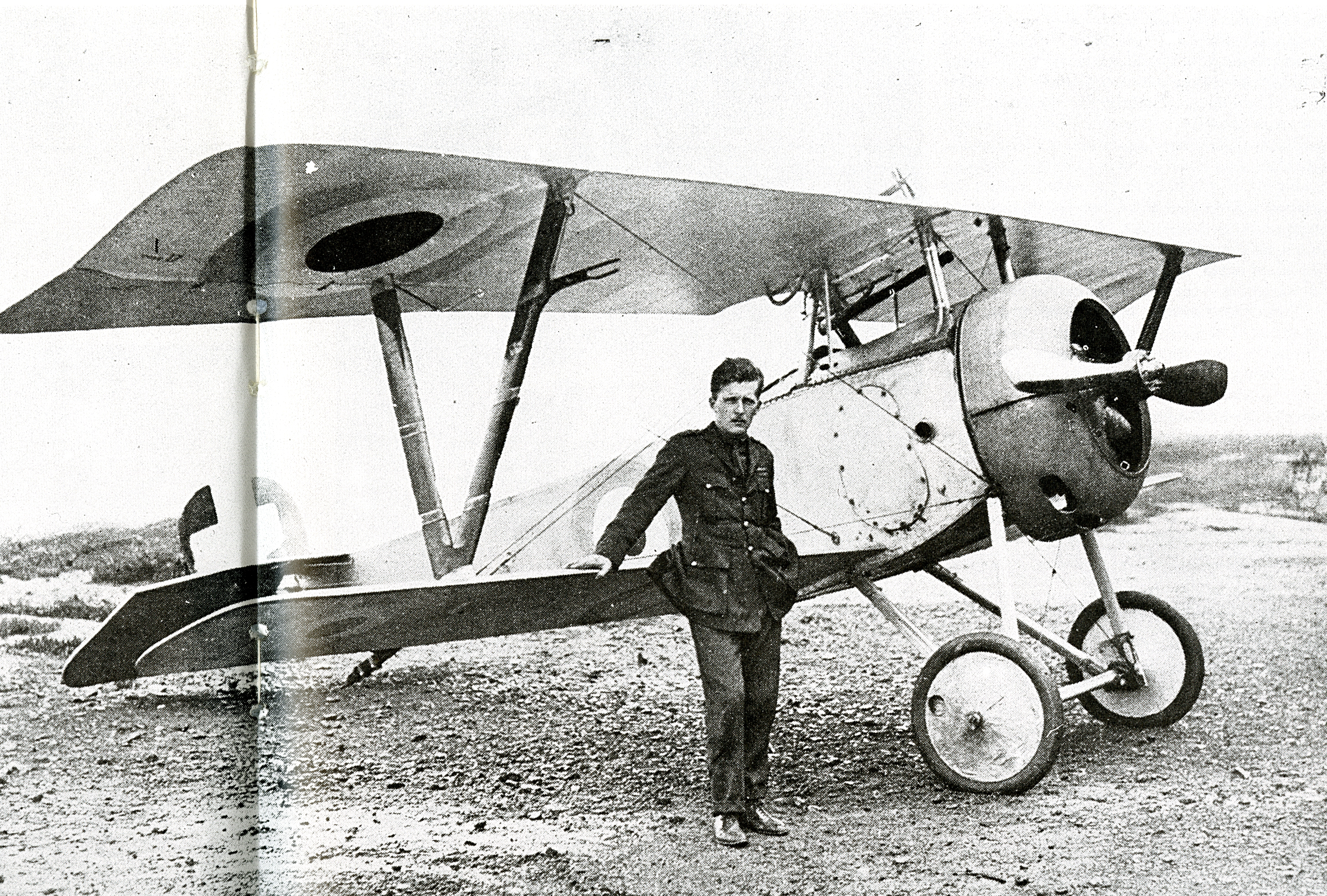 Billy Bishop and his Plane