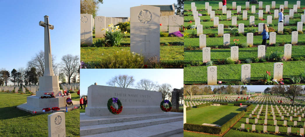 Various Photographs of Beny-Sur-Mer Canadian War Cemetery