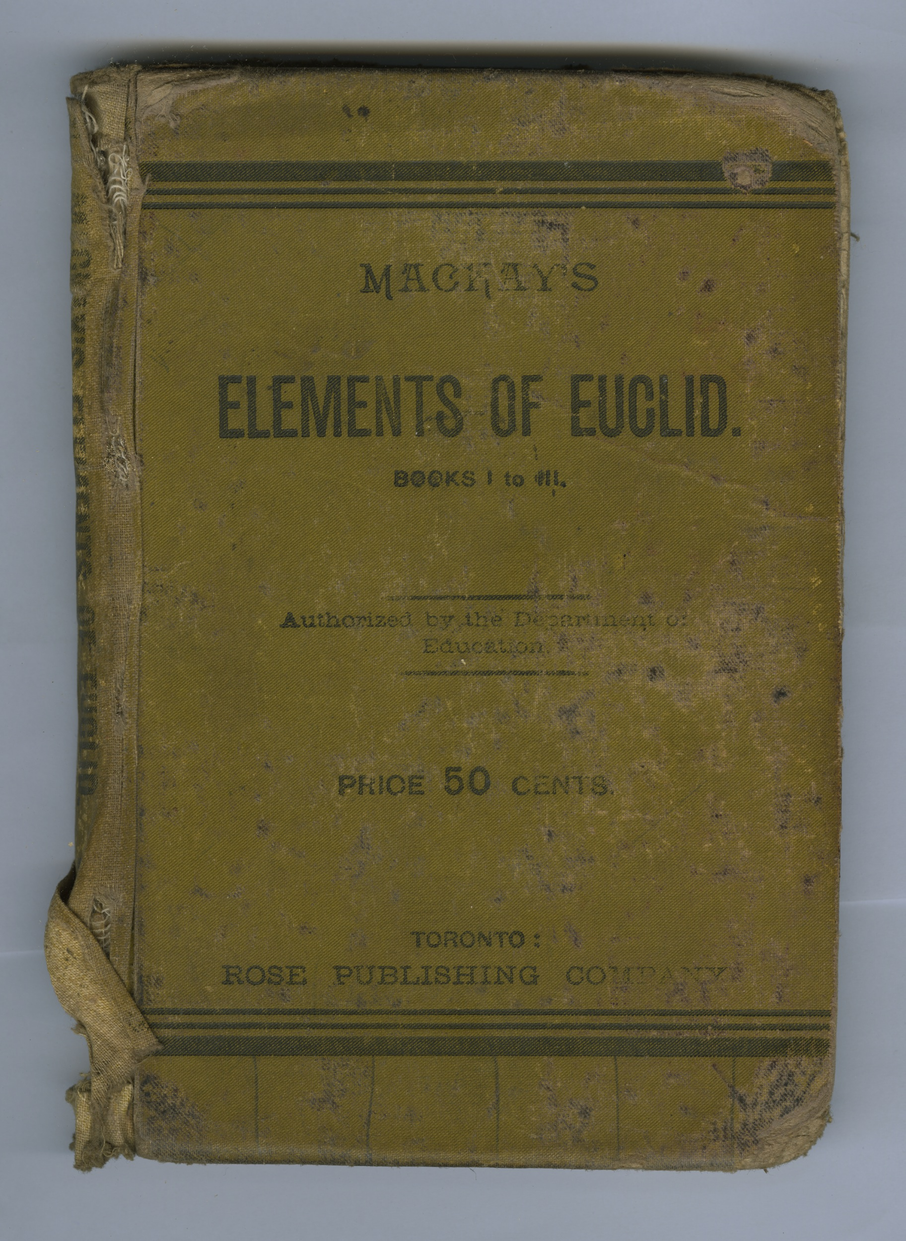 Elements of Euclid cover