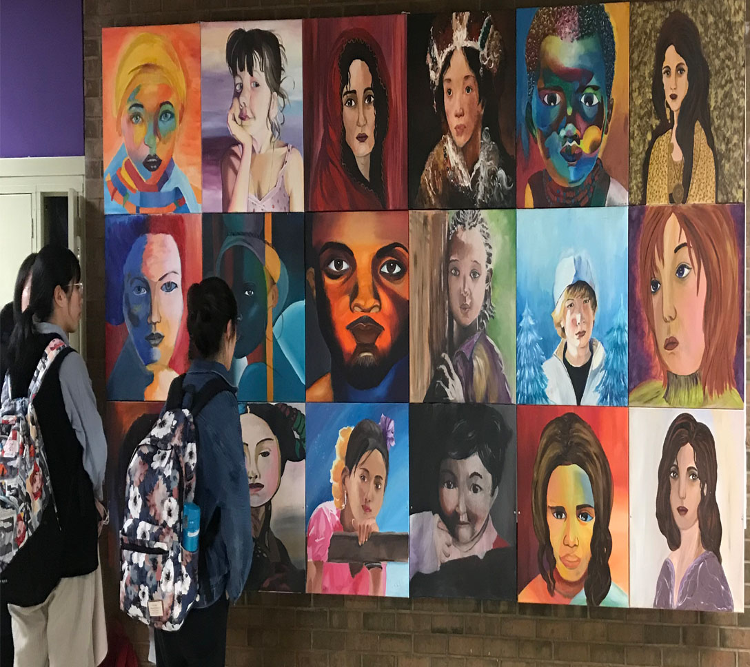 Multicultural Portraits in Acrylic.jpg