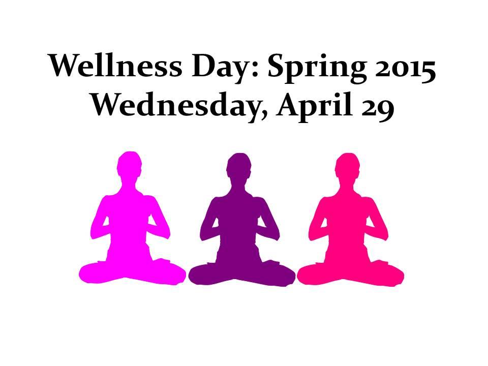 Wellness Day Spring 2015