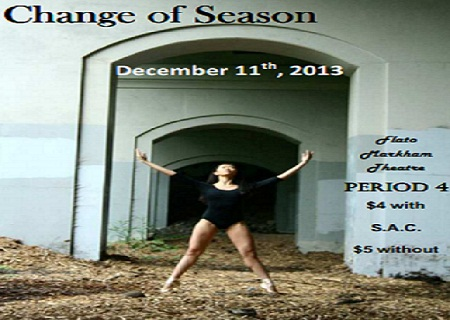 Change of Season, December 11, 2013